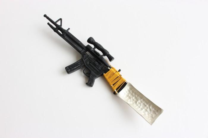 Machine gun spoon
